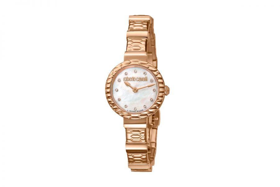 Roberto Cavalli by Franck Muller RV2L023M0096 Ronda 762 Quartz Dames Horloge 26 mm