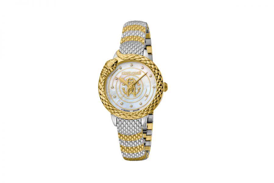 Roberto Cavalli by Franck Muller RV2L052M0091 Ronda 763 Quartz Dames Horloge 32 mm
