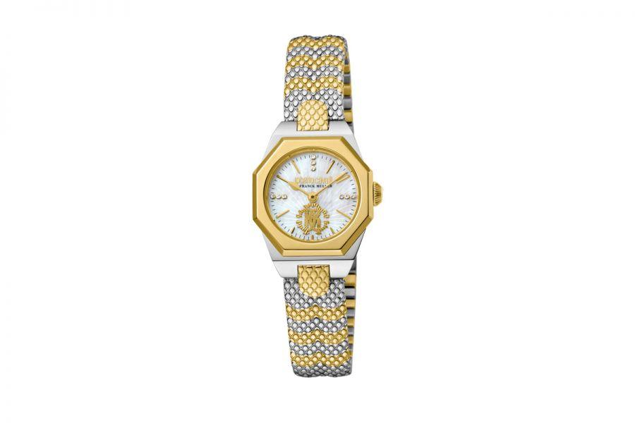 Roberto Cavalli by Franck Muller RV2L055M0101 Ronda 751 Quartz Dames Horloge 24 mm