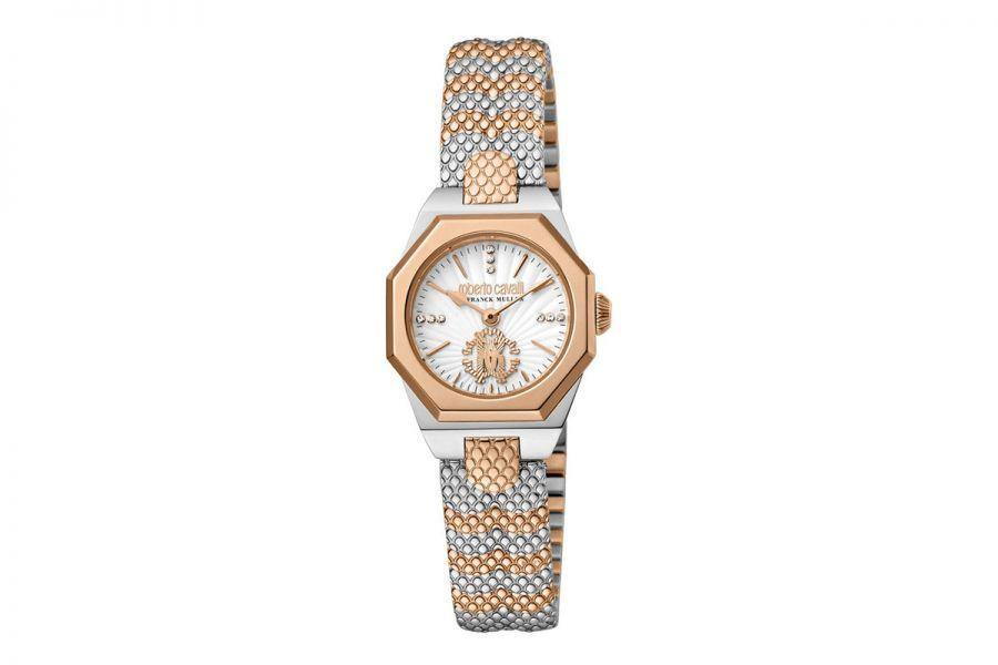 Roberto Cavalli by Franck Muller RV2L055M0111 Ronda 751 Quartz Dames Horloge 24 mm