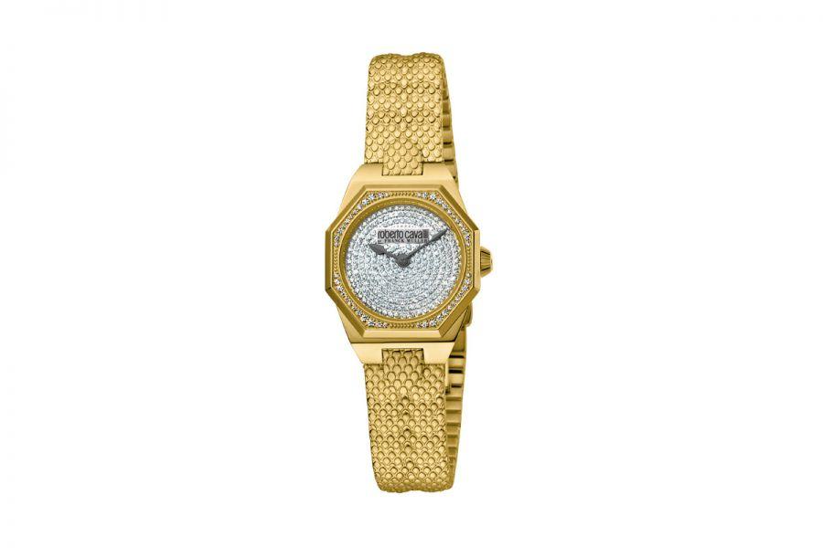 Roberto Cavalli by Franck Muller RV2L060M0021 Ronda 751 Quartz Dames Horloge 26 mm