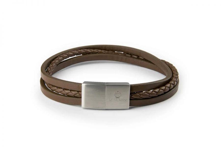 Monomen Armband MM10794 Heren 21 cm