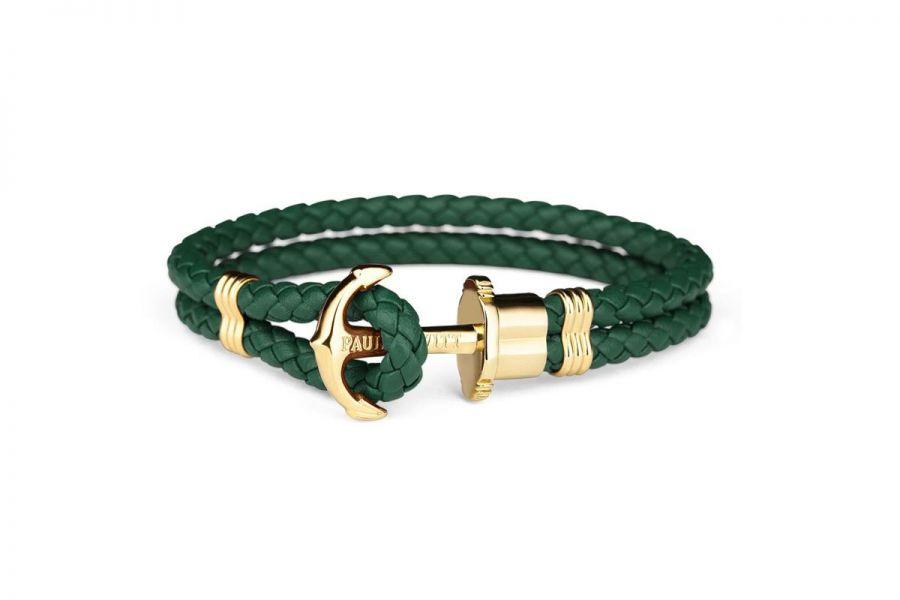 Paul Hewitt PHPHLGG Armband Leer - Maat XS - S- M - L -XL - XXL