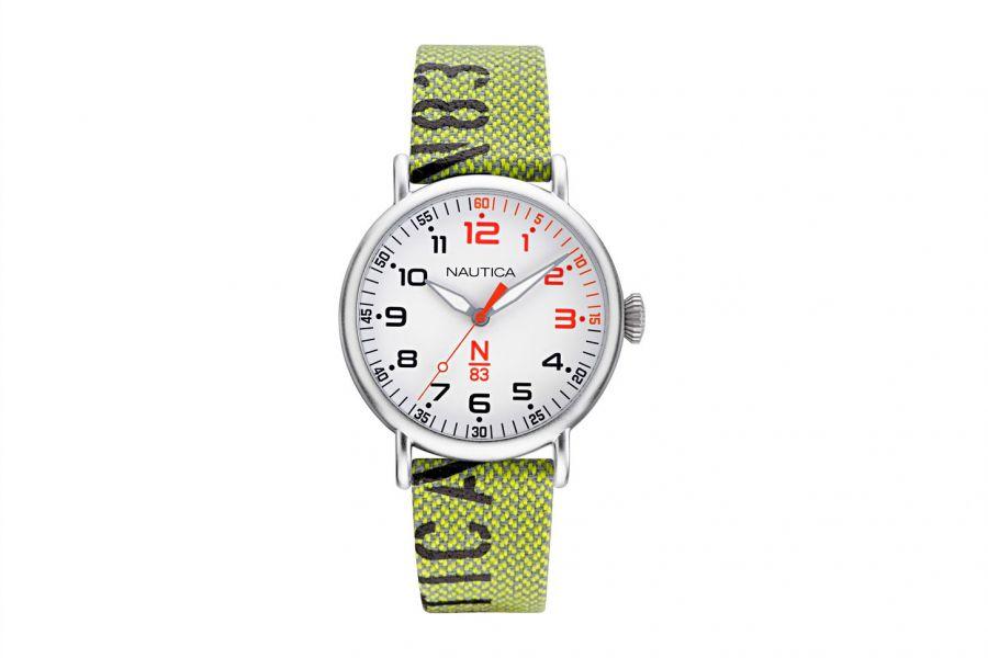 Nautica NAPLSS005 Heren Horloge 40mm 5 ATM