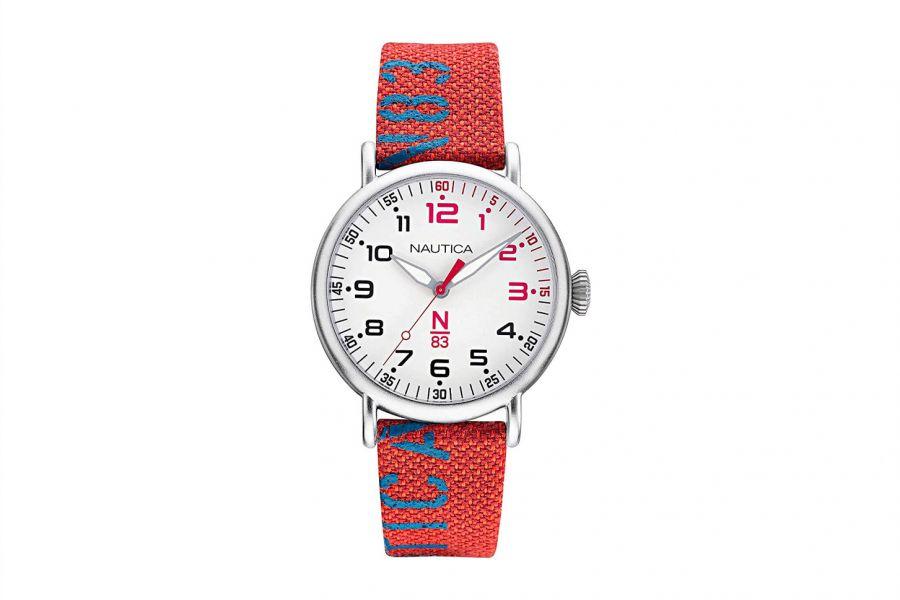 Nautica NAPLSS004 Heren Horloge 40mm 5 ATM