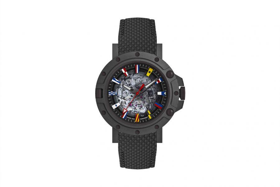 Nautica NAPPRH011 Heren Horloge 44mm 10 ATM