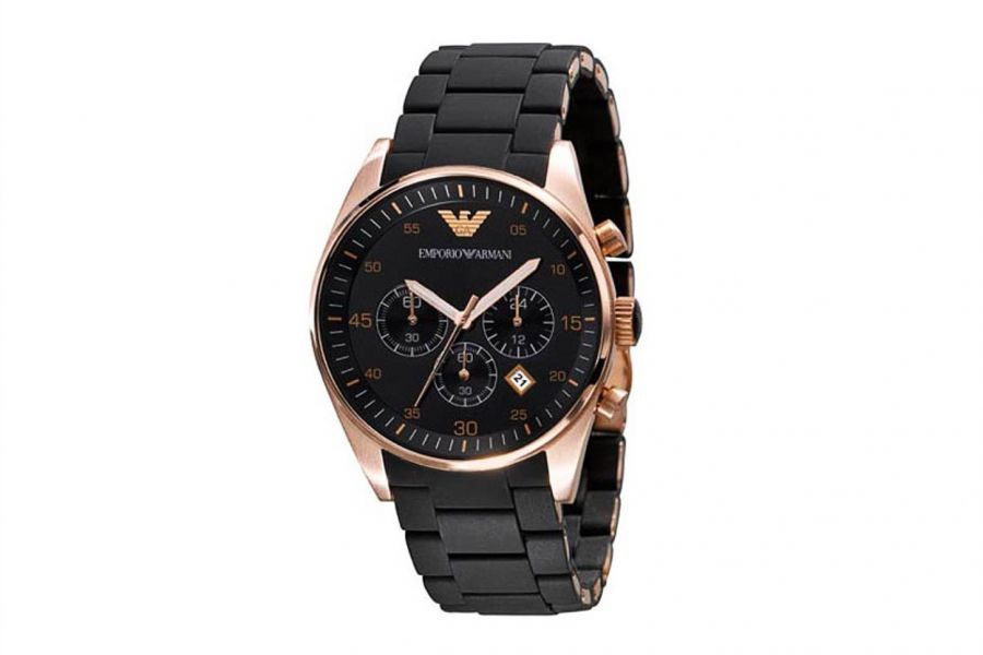 Emporio Armani Tazio AR5905 Heren Horloge 43mm 5 ATM