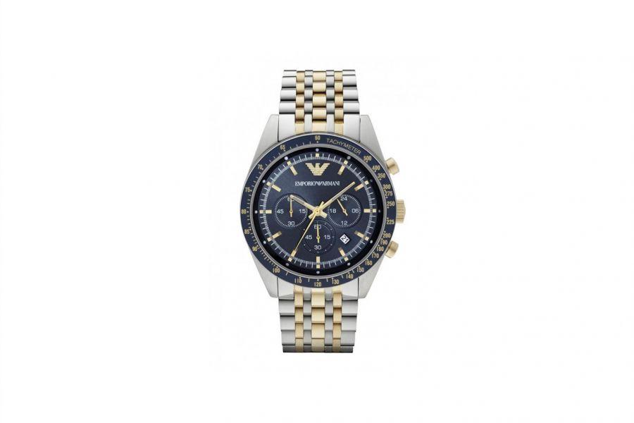 Emporio Armani Tazio AR6088 Heren Horloge 46mm 5 ATM