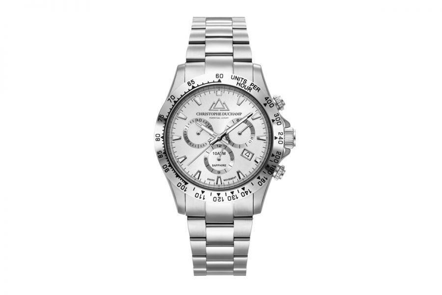 Christophe Duchamp Grand Mont Heren Horloge 42mm CD7101-9