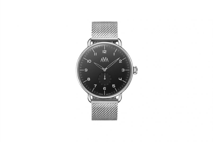 Ava Watches Limited | Silver-Svart