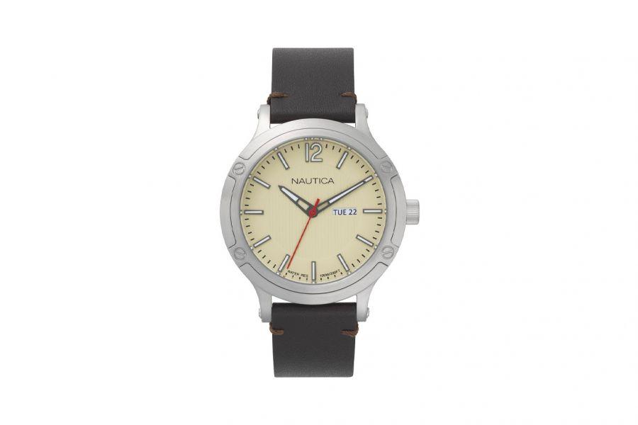 Nautica  NAPPRH015 Heren Horloge 44mm 10 ATM