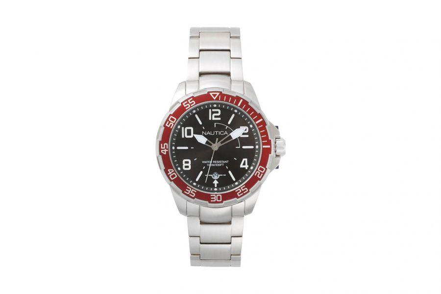 Nautica  NAPPLH005 Heren Horloge 45mm 10 ATM