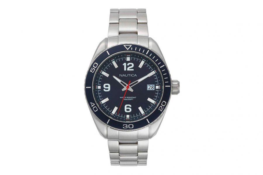 Nautica  NAPKBN002 Heren Horloge 44mm 10 ATM