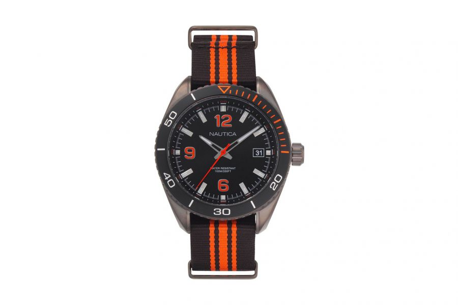 Nautica  NAPKBN005 Heren Horloge 46mm 10 ATM