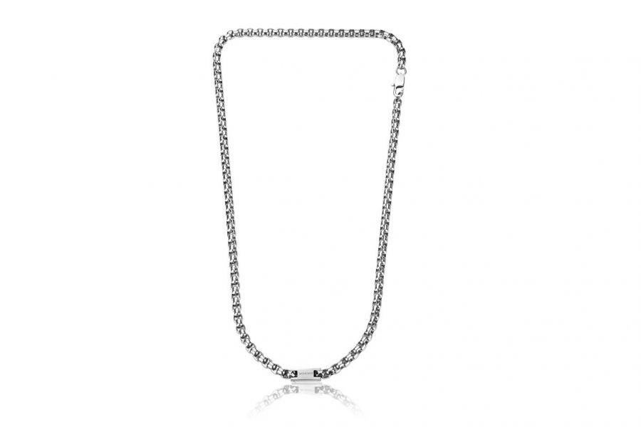 Monomen Jewelry MM10856SS Halsketting Heren 50 cm