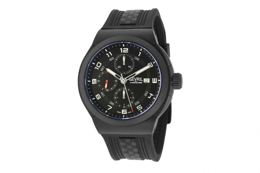 Gevril Men's Canal  St Automatic Chronograph Watch 46105 Heren Horloge