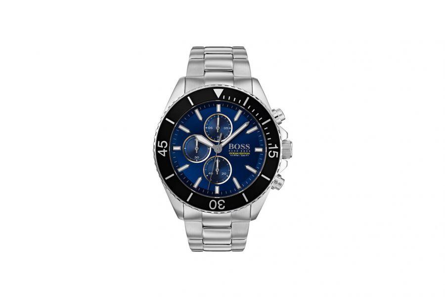 Hugo Boss Ocean Edition HB1513704 Heren Horloge 46mm 10 ATM