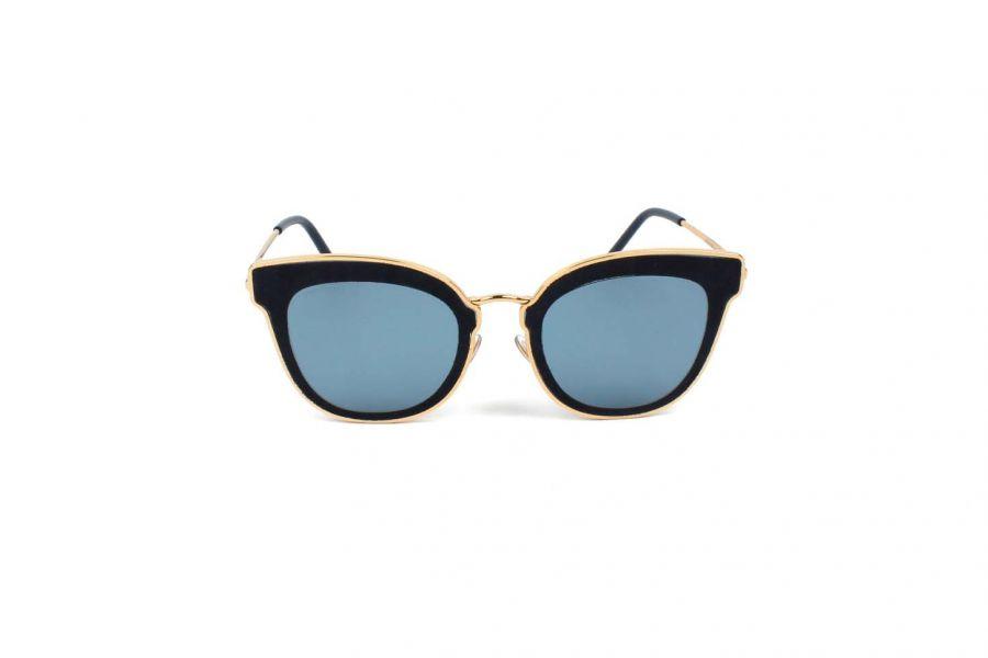 Jimmy Choo NILE/S LKS GOLD BLUE Zonnebril Dames 63x12x140