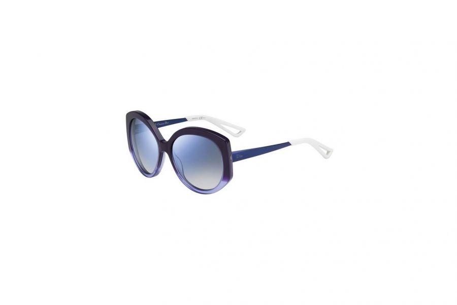 Dior Zonnebril DIOREXTASEF KW7 VIOLET BLUE Dames Zonnebril 58x16x140