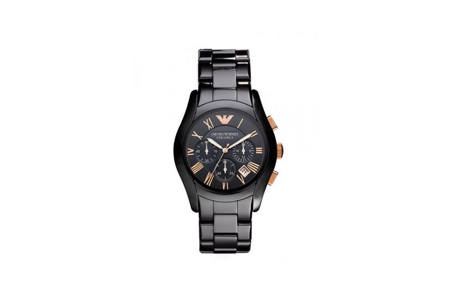 Emporio Armani Ceramica Valente AR1410 Heren Horloge 42mm 5 ATM
