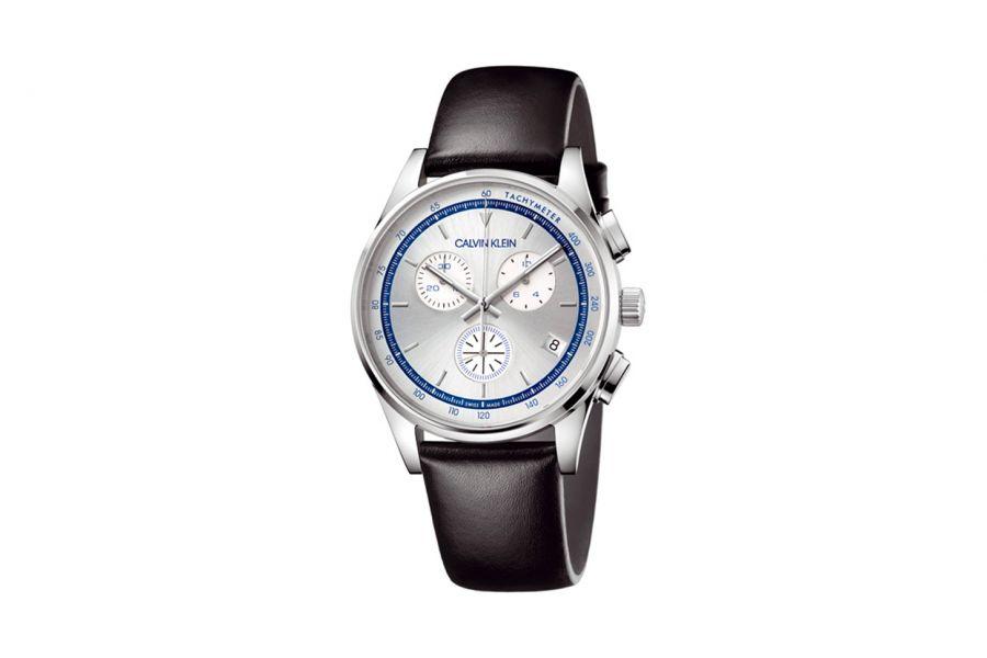 Calvin Klein KAM271C6 Heren Horloge 43 mm WR 50mt