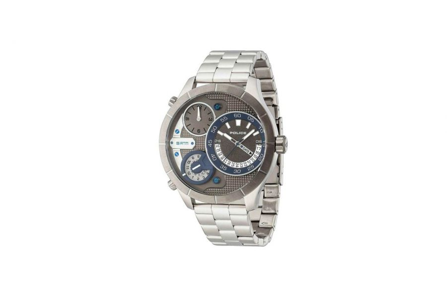 Police Heren 52MM Staal 5 ATM R1453254001