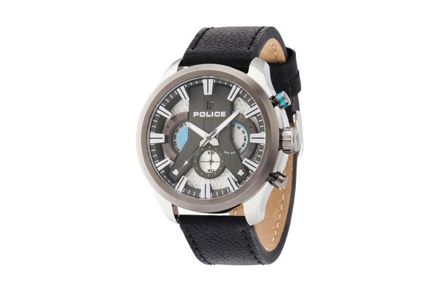 Police Heren 48MM Staal 5 ATM R1471668003