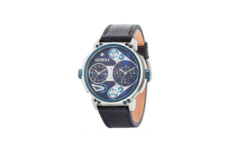 Police Heren 48MM Staal 5 ATM R1451276002