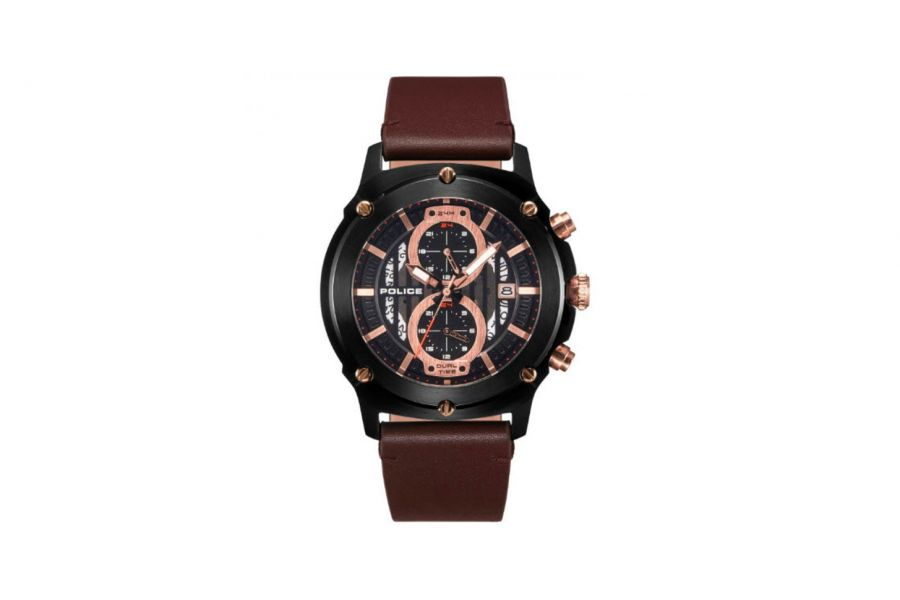 Police Heren 46MM Staal 5 ATM R1451324001