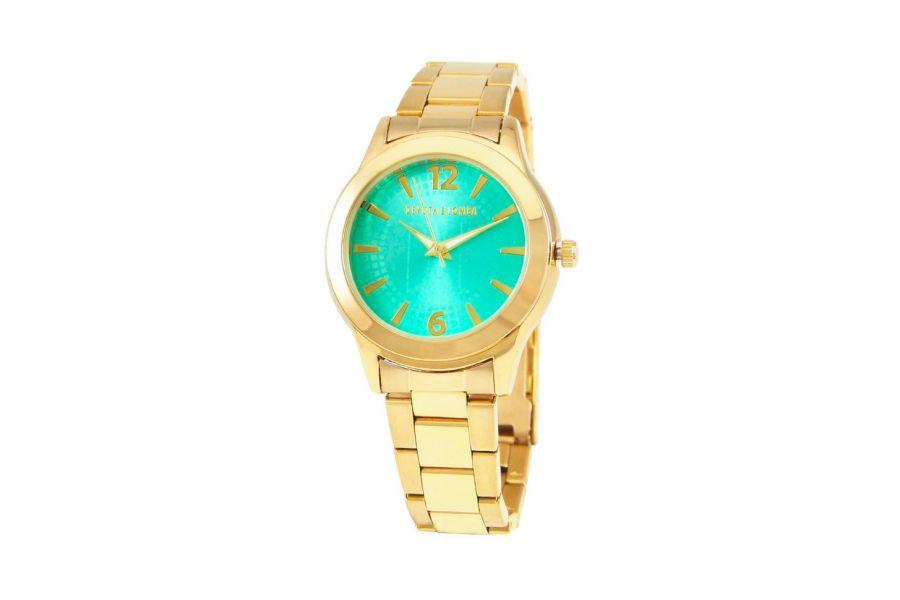 Devote & Lomba DL001W-02 TURQUOISE Dames Horloge 37mm 5ATM