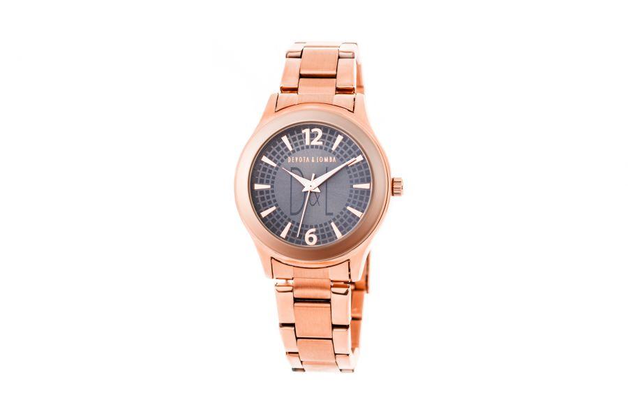 Devote & Lomba DL001W-03GREY Dames Horloge 36mm 5ATM