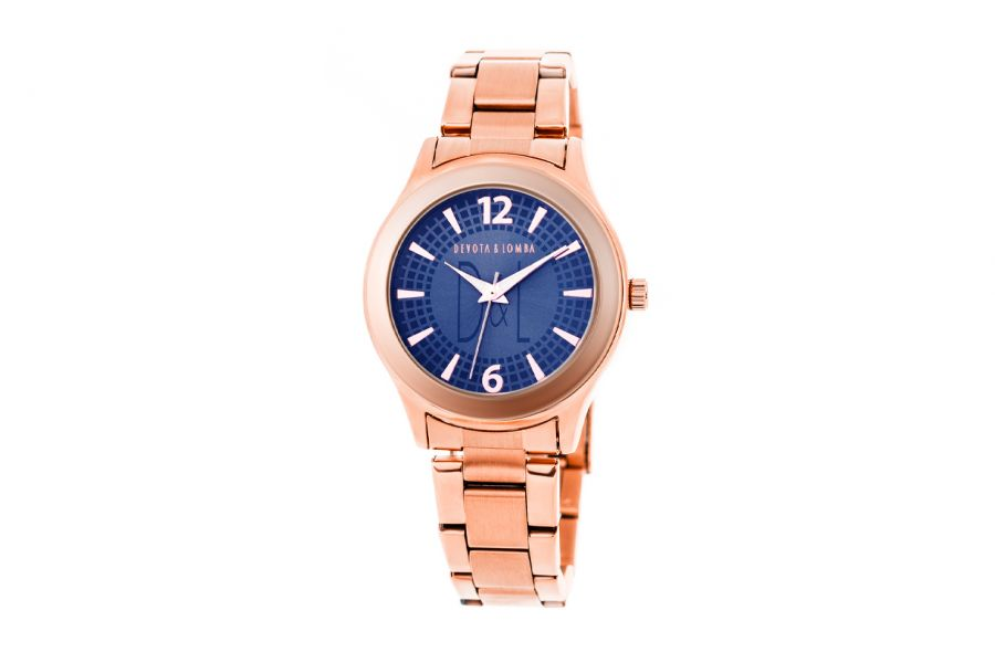 Devote & Lomba DL001W-03MARINE Dames Horloge 37mm 5ATM