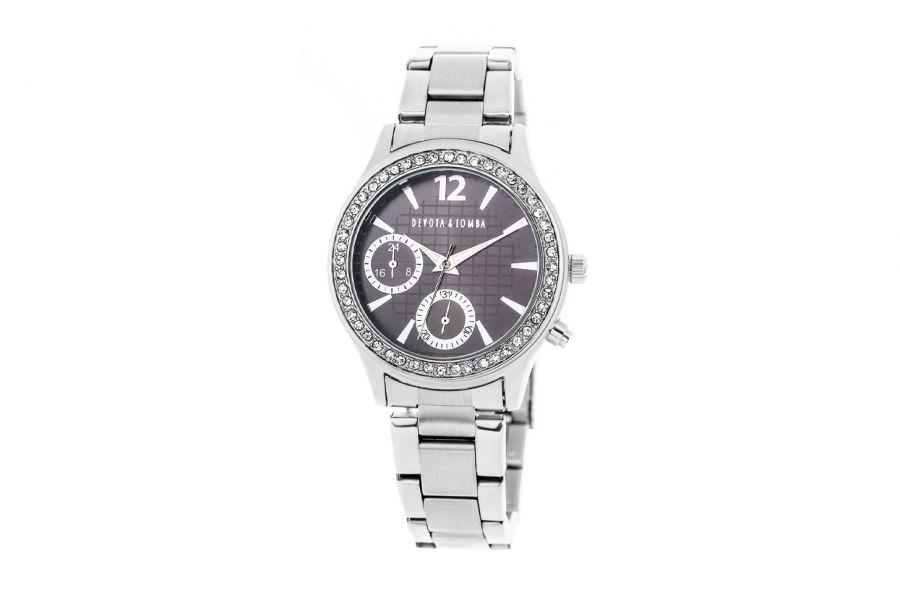 Devote & Lomba DL004W-01BLACK Dames Horloge 38mm 5ATM