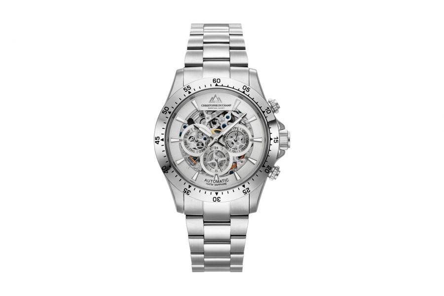 Christophe Duchamp Automatic Grand Mont Heren Horloge 46mm CD7401-1