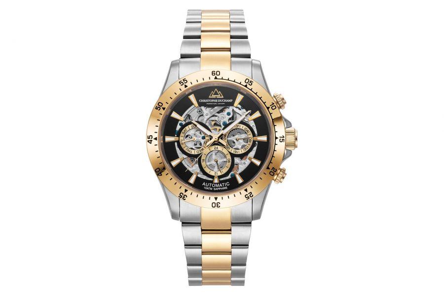 Christophe Duchamp Automatic Grand Mont Heren Horloge 46mm CD7401-2