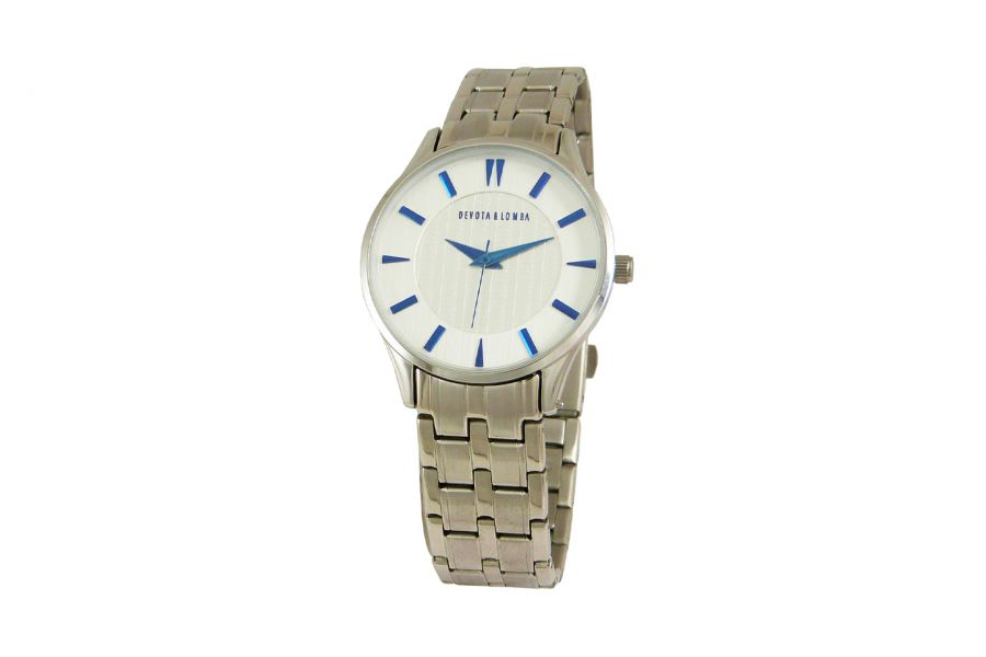 Devote & Lomba DL012W-01WHITE Dames Horloge 35mm 5ATM