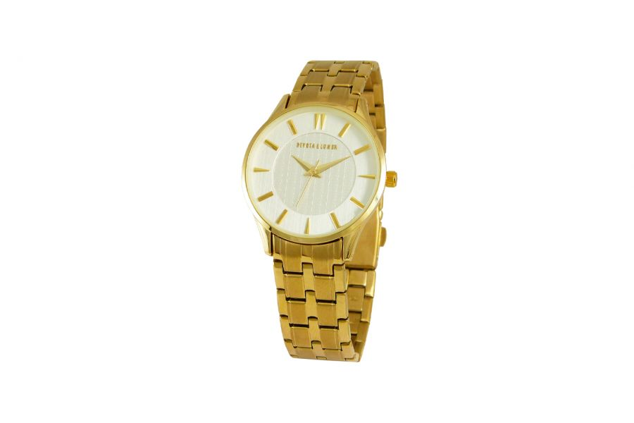 Devote & Lomba DL012W-02WHITE Dames Horloge 35mm 5ATM