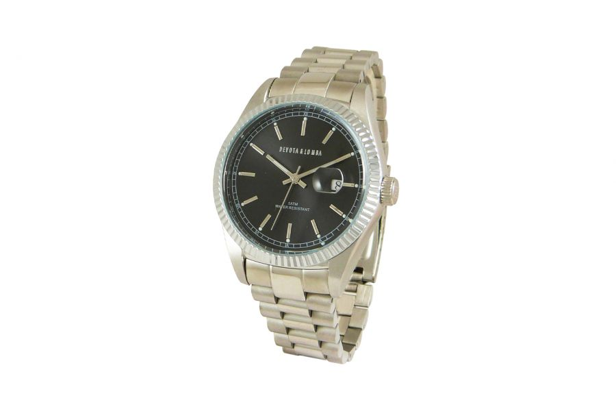 Devote & Lomba DL013M-01BLACK Heren Horloge 40mm 5ATM