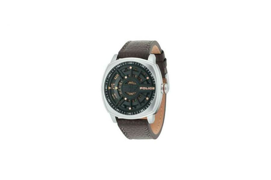 Police Heren 50MM Staal 5 ATM R1451290001