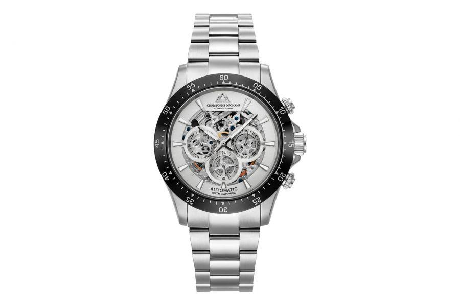 Christophe Duchamp Automatic Grand Mont Heren Horloge 46mm CD7401-3