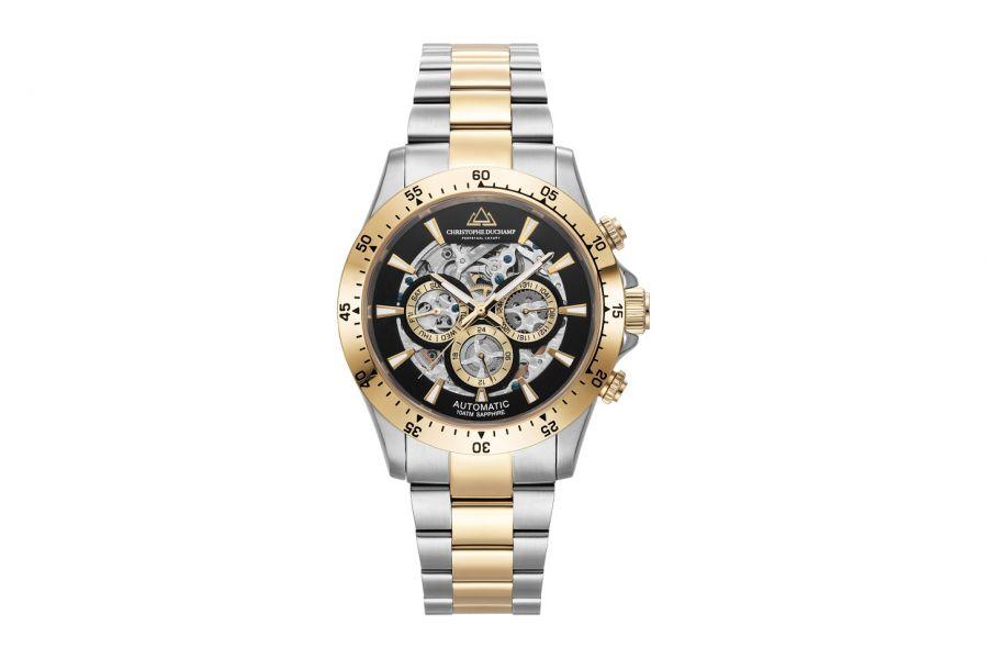 Christophe Duchamp Automatic Grand Mont Heren Horloge 46mm CD7401-4